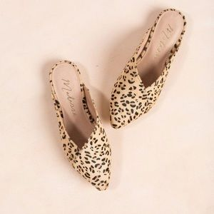 Matisse Lana Leopard Mules